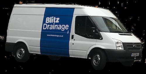 Blitz Drainage Van Transparent